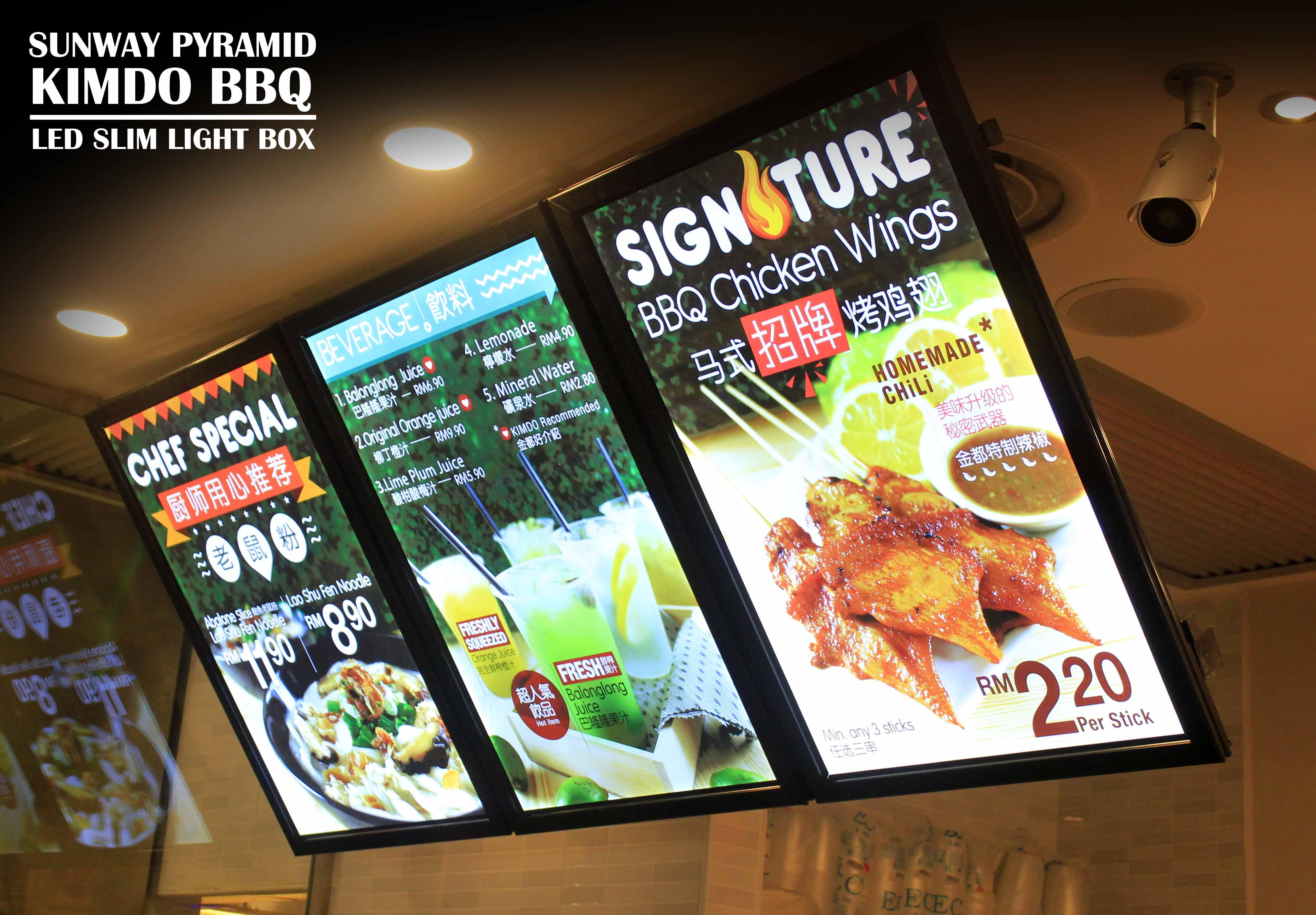 Led Slim Light Box Malaysia Signage